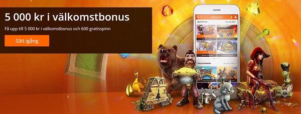 Modern casinobonus hos ett modernt online casino