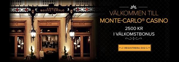 Spela bra online casino hos Monte Carlo Casino