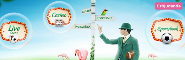 Mr Green casinobonus och free spins