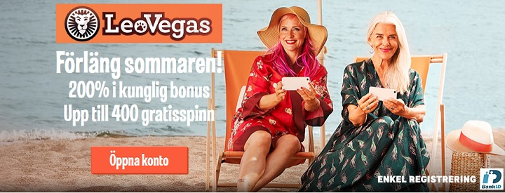 Sveriges största casinobonus – september 2018