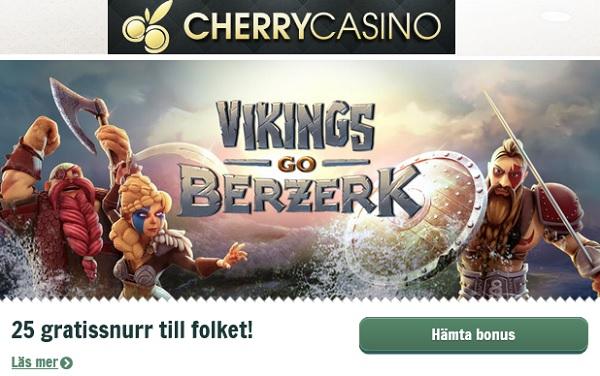 CherryCasino bonus