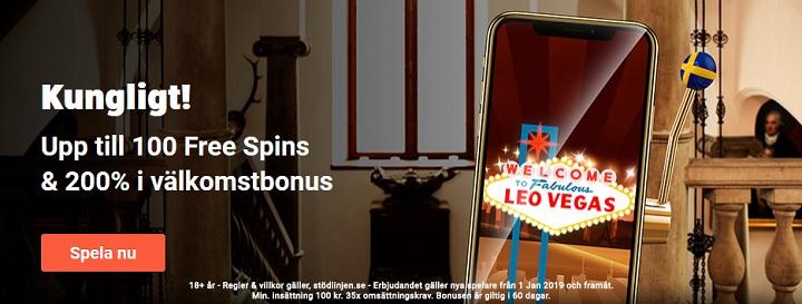 Så fungerar LeoVegas casinobonus 2019