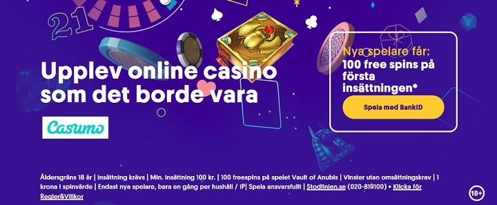 Casinobonusar maj 2021